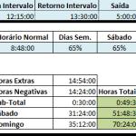 Controle de Hora Extra – Excel 2007 – Planilha de hora extra