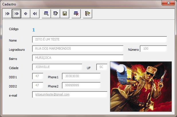 Cadastro VBA com Imagem