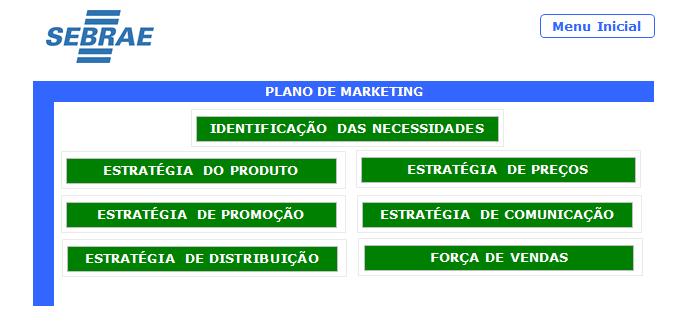 Plano de negócios 4 Excel