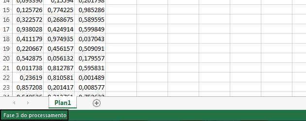 Statusbar VBA para indicar processamento