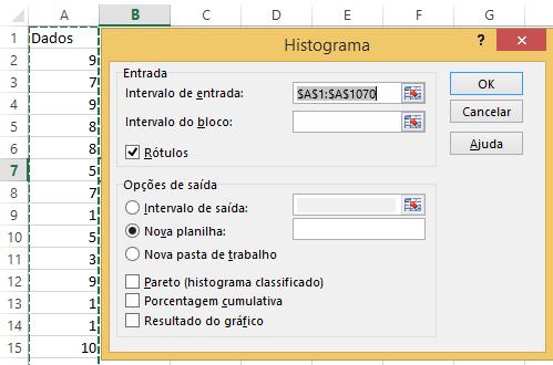 Histograma Excel 14