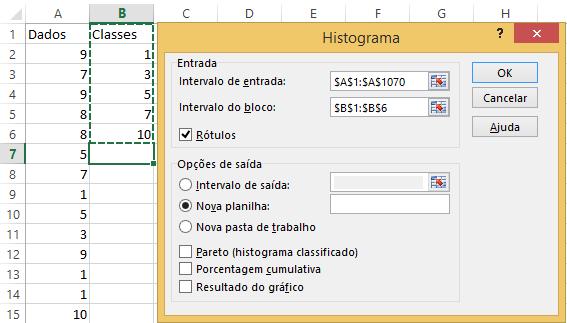 Histograma Excel 15