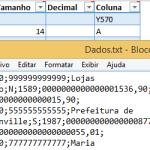 Excel VBA – Criar arquivo de texto delimitados