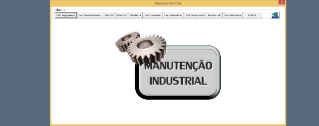 Planilha de Manutenção industrial Excel