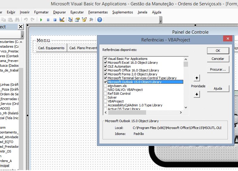 Referências Excel