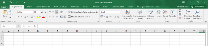 Excel 2016 1