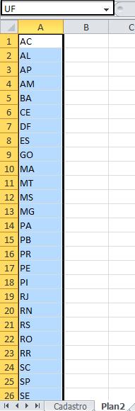 Formulário de cadastro VBA Excel automático 6