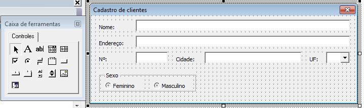Formulário de cadastro VBA Excel automático 7
