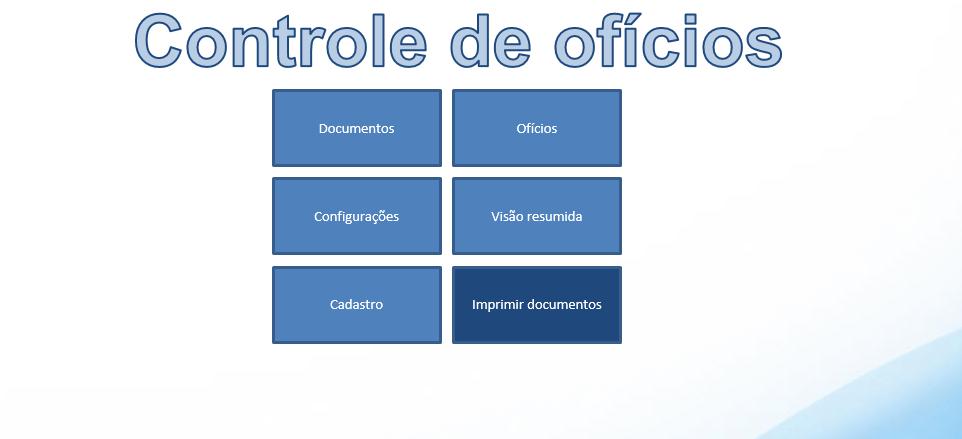 Controle de ofícios
