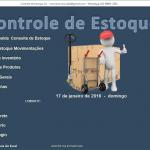Planilha de Controle de Estoque Excel 3.0