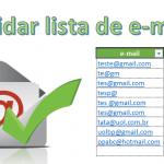 Planilha Excel para validar e-mail