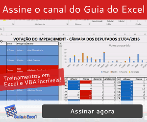 Canal do Guia do Excel