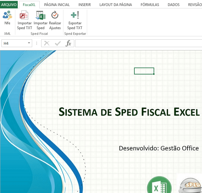 Planilha SPED Fiscal