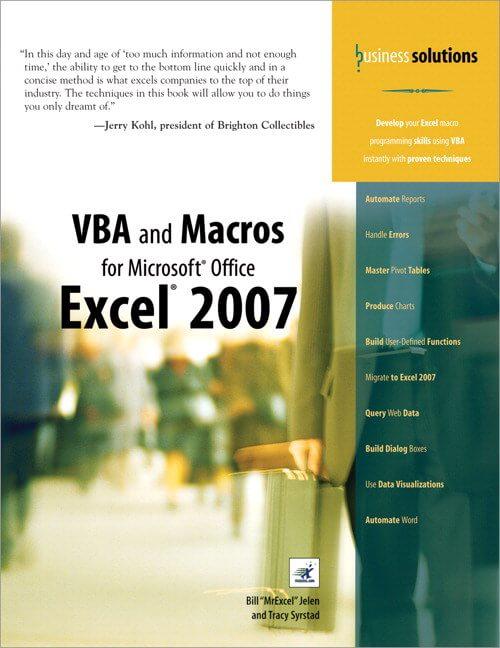 Livro VBA e Macros Excel 2016 - Bill Jellen 1